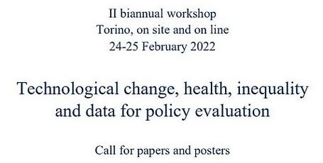 http://laboratoriorevelli.it/en/events/ii-biannual-workshop-technological-change-health-inequality-and-data-policy-evaluation